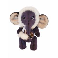 Мехомания ММВ-017 Набор для изготовления игрушки из меха Мамонтёнок Снежок