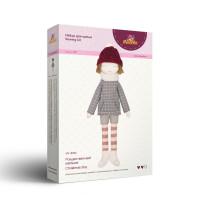 """Miadolla NY-0344 Набор для изготовления игрушки """"Miadolla"""" NY-0344 Рождественский мальчик ."""