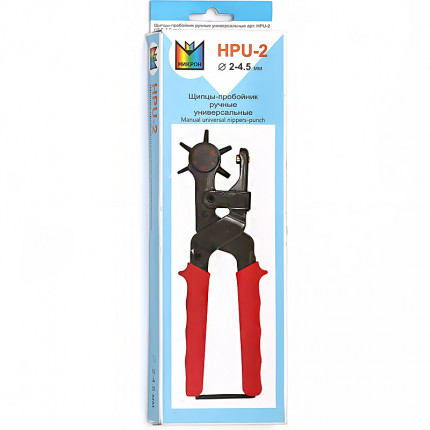 """Micron"" HPU-2 Щипцы - пробойник 6 насадок (арт. HPU-2)"