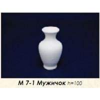 МП Студия М7-1 Заготовка керамическая Ваза Мужичок,  h=100 мм