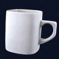 МП Студия П24 Заготовка керамическая Чашка квадратная (глазурированая) h=100 мм