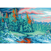 МП Студия СК-021 Зимний закат