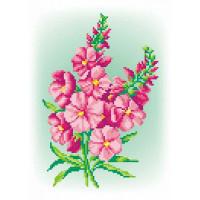 МП Студия СК-035_МПС Рисунок-схема для вышивания крестиком СК-035 Розовый шарм