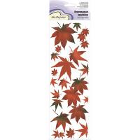 """Mr.Painter CD-06 Наклейки переводные для керамики 11 см х 36 см 5 шт. CD-06 """"Японский клен"""""""