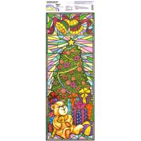 """Mr.Painter BWD Наклейки для окон (новогодние) 21 см х 59.5 см BWD-04 """"У елки"""""""