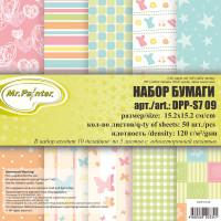 Mr.Painter DPP-S7 Бумага для скрапбукинга  DPP-S7 Набор бумаги 120 г/кв.м 15.2 x 15.2 см уп. 50 л. 09