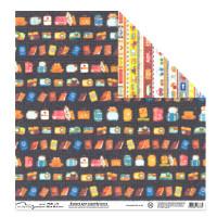 """Mr.Painter PSW Бумага для скрапбукинга """"Mr.Painter"""" PSW Бумага для скрапбукинга 180 г/кв.м 30.5 x 30.5 см (190)286 путешествия"""