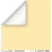 "Mr.Painter PSW Бумага для скрапбукинга ""Mr.Painter"" PSW Бумага для скрапбукинга 180 г/кв.м 30.5 x 30.5 см (270)177 мелкие точки"