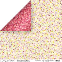 "Mr.Painter PSW Бумага для скрапбукинга ""Mr.Painter"" PSW Бумага для скрапбукинга 180 г/кв.м 30.5 x 30.5 см (270)181 мелкие цветочки"