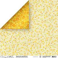 "Mr.Painter PSW Бумага для скрапбукинга ""Mr.Painter"" PSW Бумага для скрапбукинга 180 г/кв.м 30.5 x 30.5 см (270)186 мелкие цветочки"