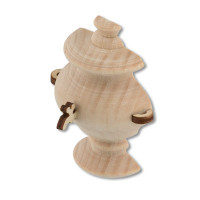 """Mr. Carving DE-052 Заготовка для декорирования """"Mr. Carving"""" DE-052 """"самовар-половинка"""" дерево с магнитом и фурнитурой"""