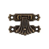 "Mr. Carving MMG-008 ""Mr. Carving"" MMG-008 фурнитура для шкатулок ""замок"" 3.7 x 2.4 см 1 шт. №02 бронза"