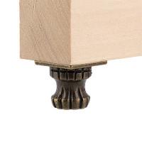 "Mr. Carving MMG-020 ""Mr. Carving"" MMG-020 фурнитура для шкатулок ""ножка"" 3.4 x 2 см 4 шт. №02 бронза"