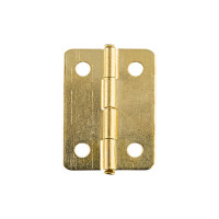 "Mr. Carving MMG-025 ""Mr. Carving"" MMG-025 фурнитура для шкатулок ""петля"" 2.4 x 1.6 см 2 шт. №01 золото"
