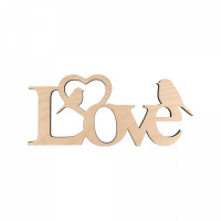 Mr. Carving ПЦ-127 Love (фанера)