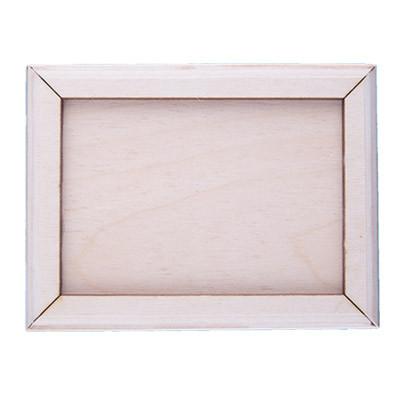 """Заготовка для декорирования """"Mr. Carving"""" ВД-043 """"рамка прямоугольная классическая"""" фанера 10.5 x 8 см магнит в комплекте (арт. ВД-043)"""