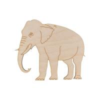 """Mr. Carving ВД-178 Заготовка для декорирования """"Mr. Carving"""" ВД-178 """"Животные"""" №1 фанера  Слон (15х13 см)"""