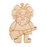 """Mr. Carving ВД-188-1 Заготовки для декорирования """"Домовой с веником"""""""