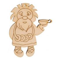 Mr. Carving ВД-188-2 Домовой с баранками (фанера)