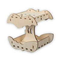 """Mr. Carving ВД-390 Заготовка для декорирования """"Mr. Carving"""" ВД-390 Кормушка фанера """"Яблоко"""" (20 x 22 см)"""