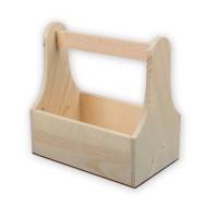 """Mr. Carving ВД-471 Заготовка для декорирования """"Mr. Carving"""" ВД-471 Ящик с ручкой сосна 25 x 14.5 x 25 см ."""