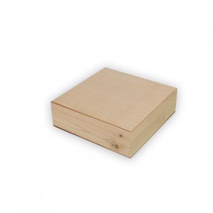 """Заготовка для декорирования """"Mr. Carving"""" ВД-486 Шкатулка с 4 ячейками сосна 20 x 20 x 6 см . (арт. ВД-486)"""