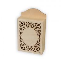 Mr. Carving ВД-488 Заготовки для декорирования Mr. Carving ВД-488 Ключница резная сосна 25*15*6 см