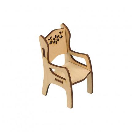 """Заготовка для декорирования """"Mr. Carving"""" ВД-518 """"Стульчик"""" фанера 11 х 5.4 х 6.3 см . (арт. ВД-518)"""