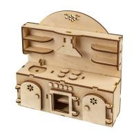 """Mr. Carving ВД-520 Заготовка для декорирования """"Mr. Carving"""" ВД-520 """"Кухонный гарнитур"""" фанера 22 x 22 см ."""