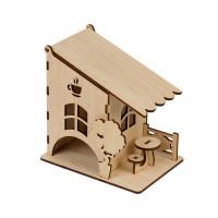"""Mr. Carving ВД-661 Заготовка для декорирования """"Mr. Carving"""" ВД-661 Чайный домик """"Летнее кафе"""" фанера 14 x 10 см ."""