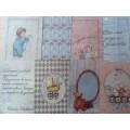 "Mr. Painter 170103 Декоративные карточки ""Колыбельная"""