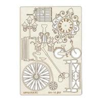 "Mr. Painter CHI-10/003 Чипборд картонный ""Ретро"""