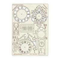 """Mr. Painter CHI-10/010 Чипборд картонный """"Часы"""""""