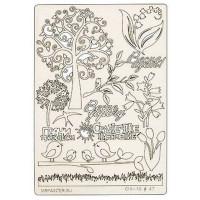 "Mr. Painter CHI-10/047 Чипборд картонный ""Весна идет"""