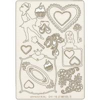 """Mr. Painter CHI-10/160102/2 Чипборд картонный """"Маленькая леди"""""""