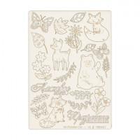 """Mr. Painter CHI-10/180401 Чипборд картонный """" Лесная поляна"""""""