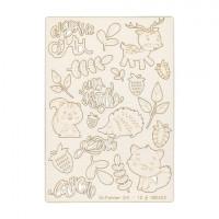 "Mr. Painter CHI-10/180403 Чипборд картонный ""Моя ягодка"""