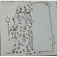 "Mr. Painter CHI-9/35 Чипборд картонный ""Волшебный медведь"""