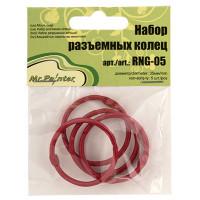 Mr. Painter RNG-05-02 Набор разъемных колец, цвет - красный