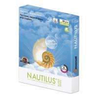 NAUTILUS  Бумага офисная NAUTILUS SUPER WHITE, RECYCLED, А4, 80 г/м2, 500 л., марка А, Mondi, белизна 150%
