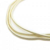 Neelansh Exports KAN/MF1-02 Канитель мягкая, гладкая KAN/MF1-02  глянец, розовое золото ,1 г