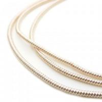 Neelansh Exports KAN/MF1-03 Канитель мягкая, гладкая KAN/MF1-03  глянец, белое золото ,1 г