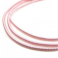 Neelansh Exports KAN/MF1-10 Канитель мягкая, гладкая KAN/MF1-10  глянец, нежно-розовый ,1 г