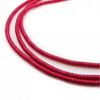 Neelansh Exports KAN/MF1-12 Канитель мягкая, гладкая KAN/MF1-12 глянец, индийский красный ,1 г