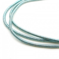 Neelansh Exports KAN/MF1-20 Канитель мягкая, гладкая KAN/MF1-20 глянец, циан ,1 г
