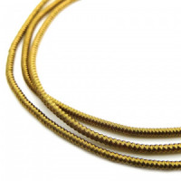 Neelansh Exports KAN/MF1-24 Канитель мягкая, гладкая KAN/MF1-24  глянец, сепия ,1 г