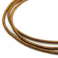 Neelansh Exports KAN/MF1-25 Канитель мягкая, гладкая KAN/MF1-25  глянец, шоколад ,1 г