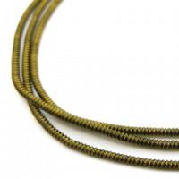Neelansh Exports KAN/MF1-26 Канитель мягкая, гладкая KAN/MF1-26  глянец, бежево-серый ,1 г