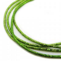 Neelansh Exports KAN/MN1-17 Канитель (трунцал) мягкая, фигурная KAN/MN1-17  глянец, травяной зеленый , 1 г