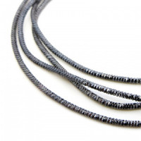 Neelansh Exports KAN/MN1-23 Канитель (трунцал) мягкая, фигурная KAN/MN1-23  глянец, серый , 1 г